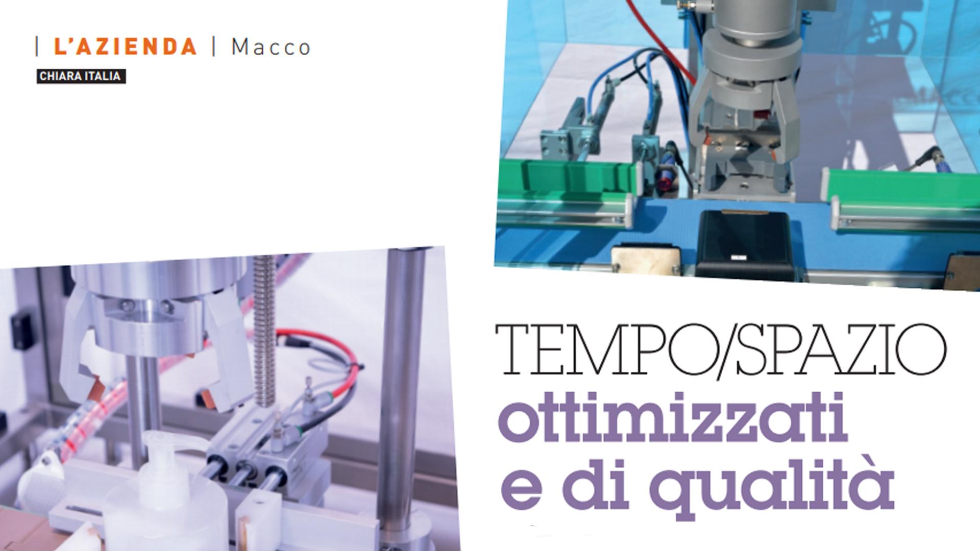 TEMPO/SPAZIO ottimizzati e di qualità – Kosmetica 6, Settembre 2019